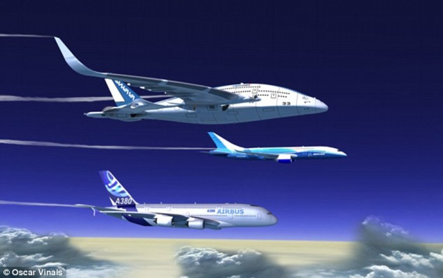 """Ateities lėktuvas """"Sky Whale"""""""