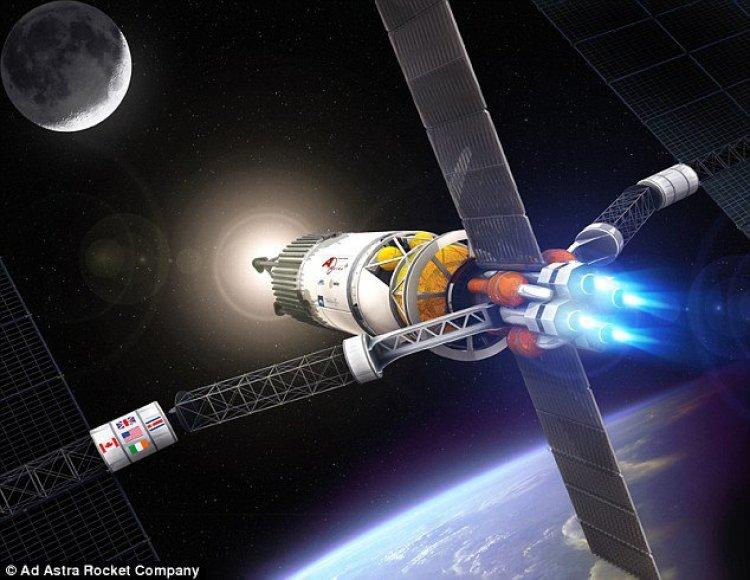 """""""Vasimr"""" plazminiai jonų varikliai astronautus į Marsą nugabentų ir per 39 paras"""
