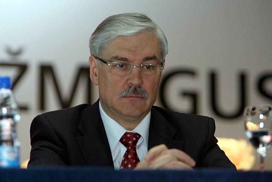 LSDP pirmininko pavaduotojas Zigmantas Balčytis