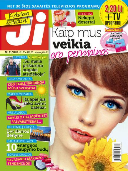 """2014 m. kovo mėnesio žurnalo """"Ji"""" Nr. 11"""