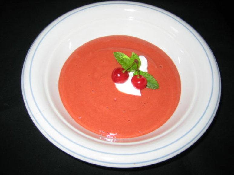 Vyšnių sriuba