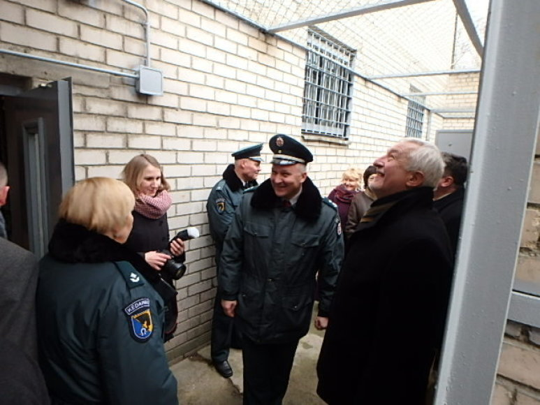 Kėdainiuose atidaryta atnaujinta areštinė