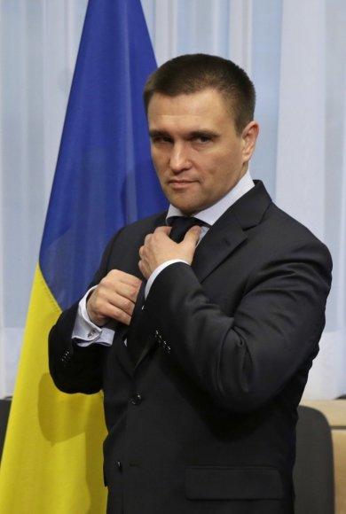 Ukrainos užsienio reikalų ministras Pavlo Klimkinas