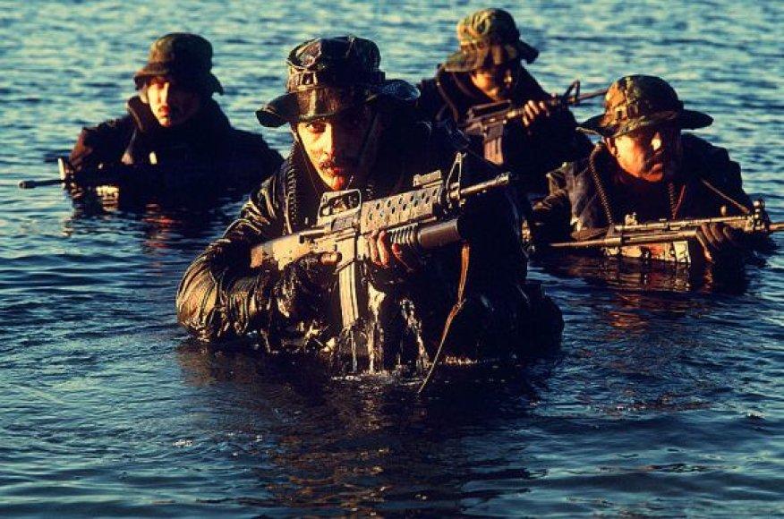SEAL kariai (1986 m. nuotrauka)