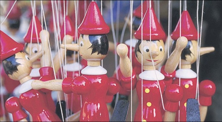 Marionetės