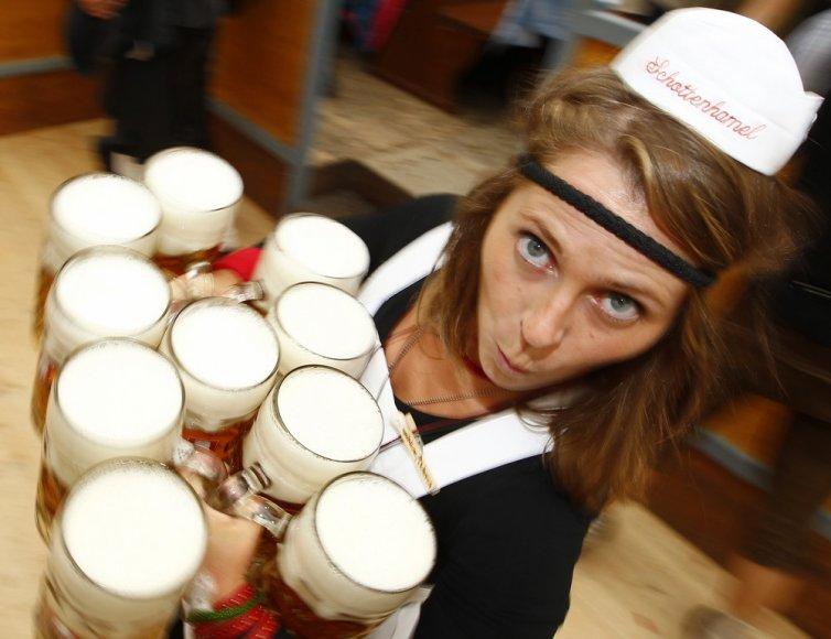 """Oktoberfest"" alaus šventė Miunchene"