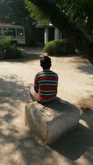 Asmeninės nuotr./Iš vergovės išgelbėtas berniukas