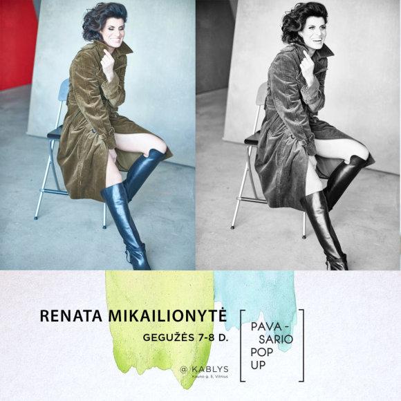 """""""Pavasario Pop up"""" dalyvis: Renata Mikailionytė"""