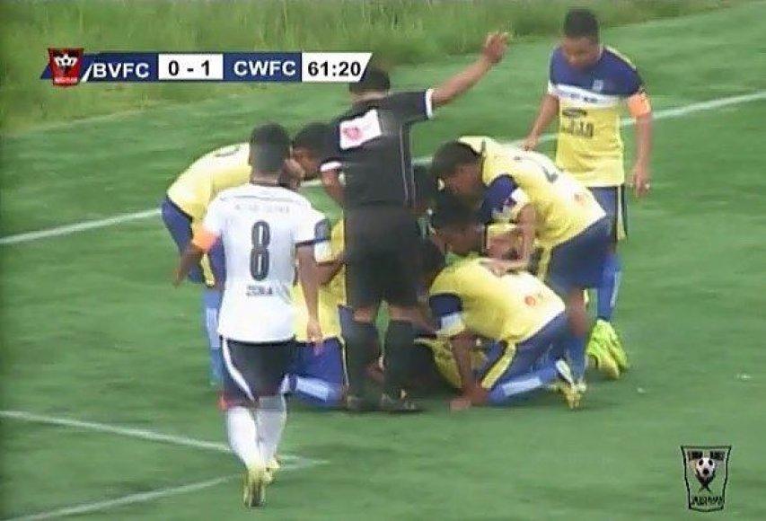 Incidentas per futbolo rungtynes