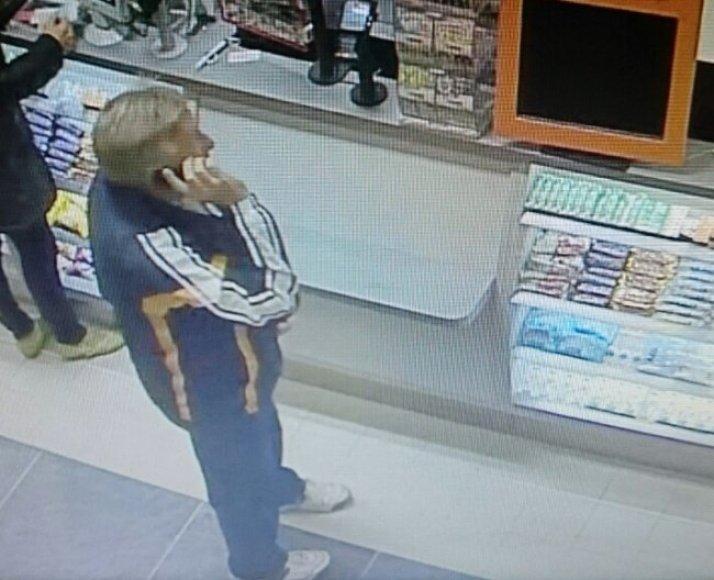 Klaipėdos policija ieško įtariamojo telefono vagyste