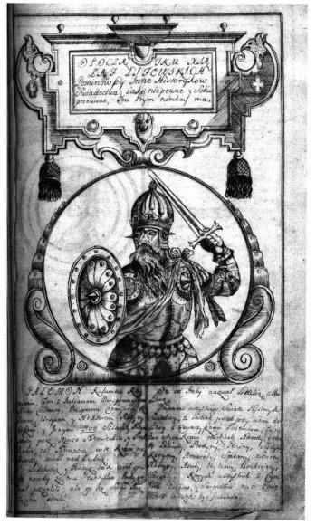 Palemono atvaizdas iš XVIII a. rankraštinės knygos