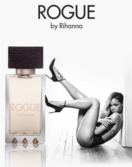 """Rihannos kvepalų """"Rogue"""" reklama"""