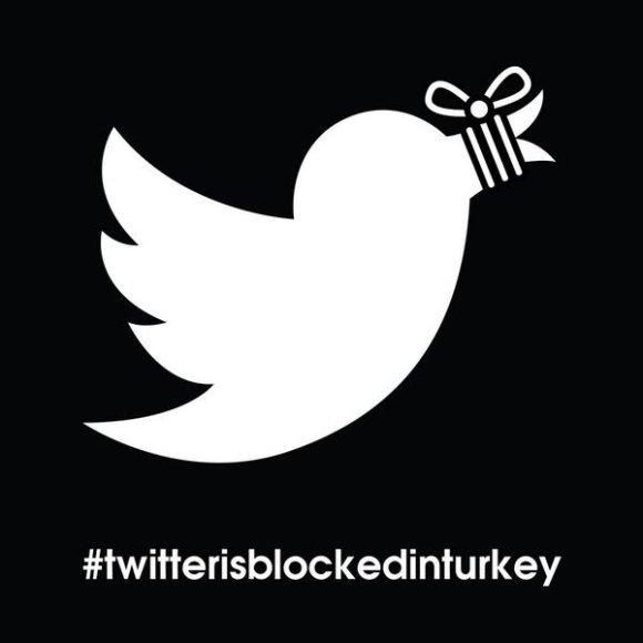 """Reakcija į """"Twitter"""" blokavimą Turkijoje"""