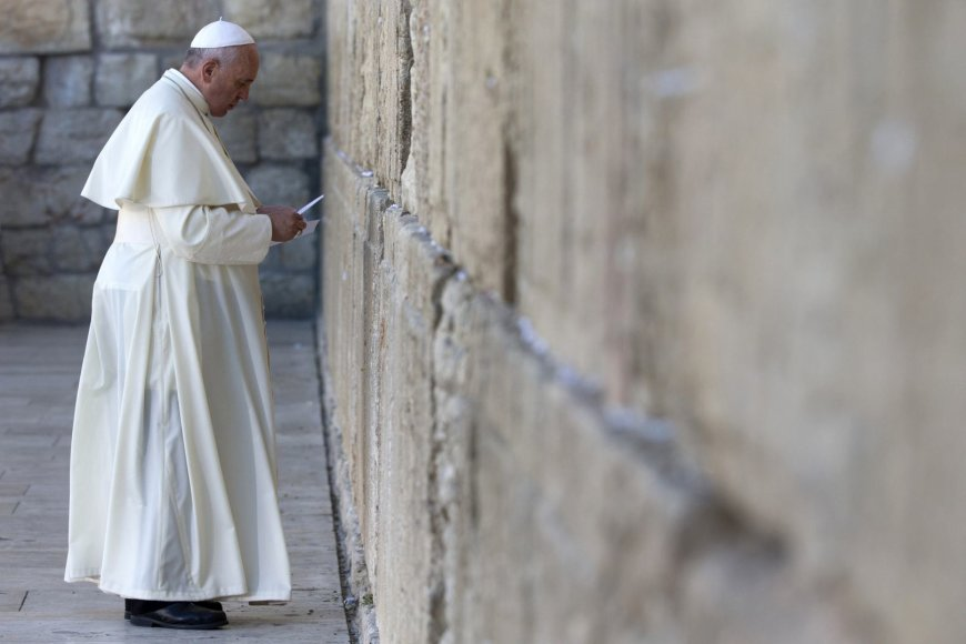 Popiežius Pranciškus Jeruzalėje