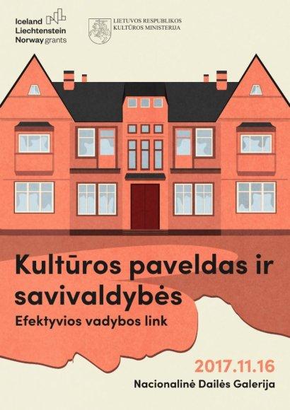Konferencijos plakatas
