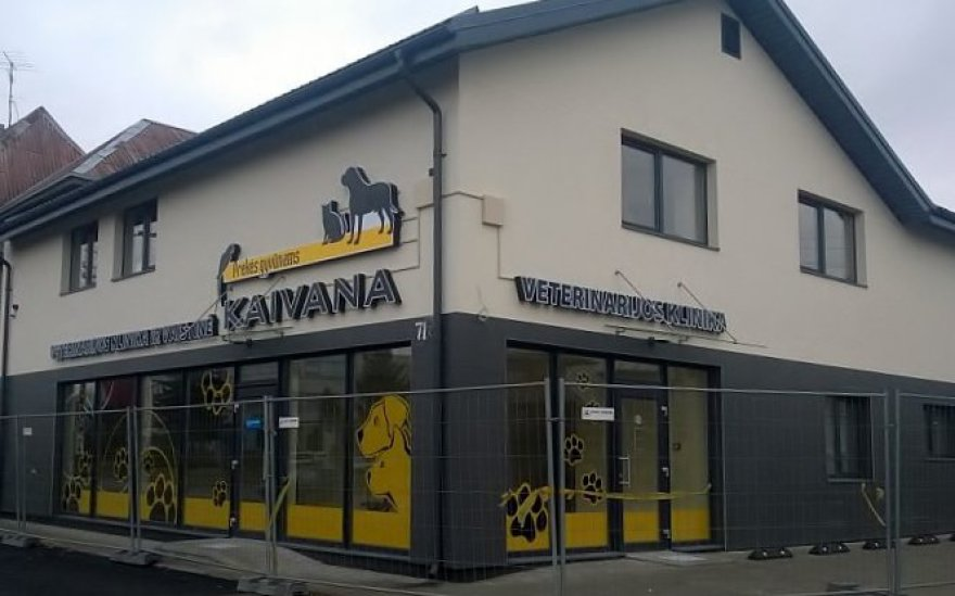 """""""Kaivana"""" Aleksote atidaro naują veterinarijos kliniką"""