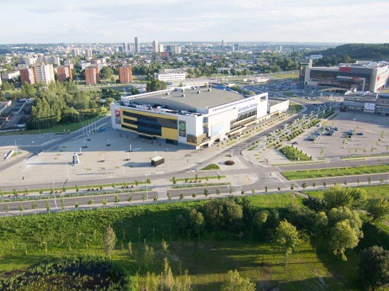 """""""Siemens"""" arena Vilniuje"""