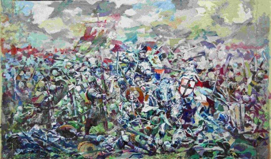 """A.Cholomeniuko """"Žalgirio mūšis"""""""