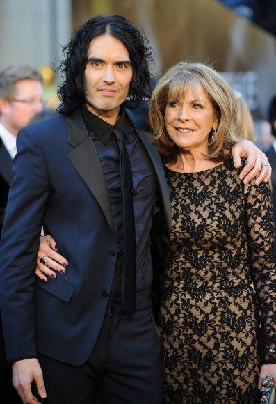 Russellas Brandas su mama Barbara
