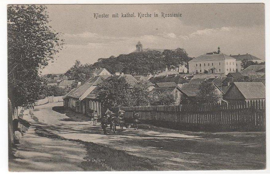 Raseiniai 1916 metais