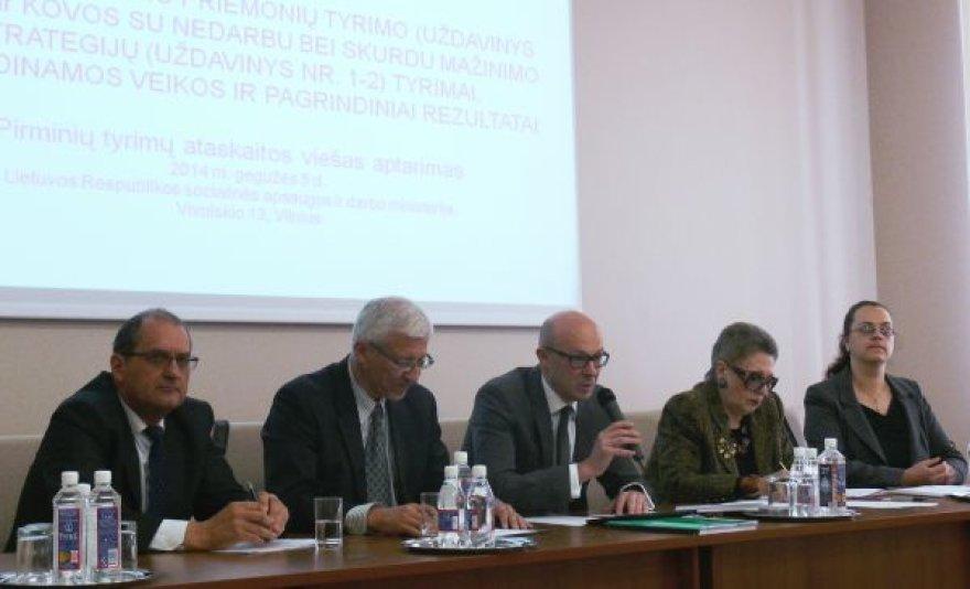 Mokslininkai diskutavo, kaip keisti Lietuvos socialinės apsaugos modelį
