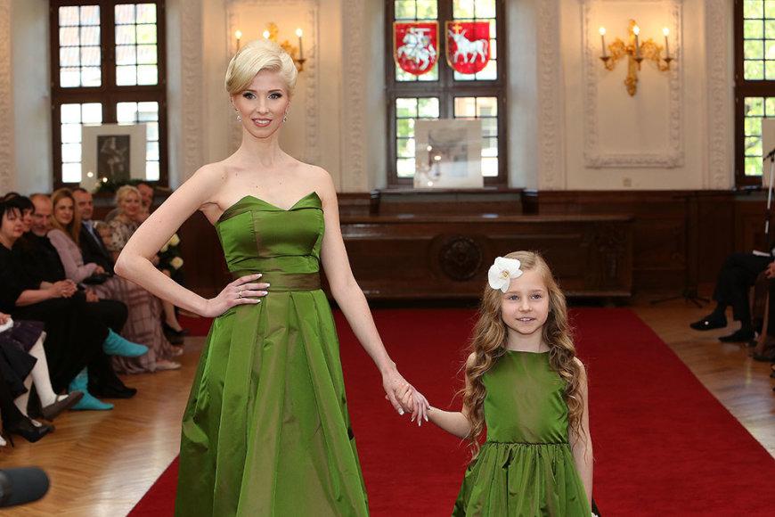 Inga Stumbrienė su dukra Estela