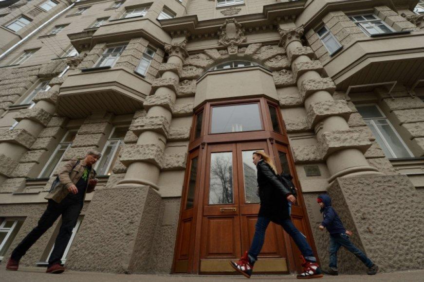 Šiame name Maskvoje sumuštas Nyderlandų ambasadoriaus pavaduotojas Onno Elderenboschas