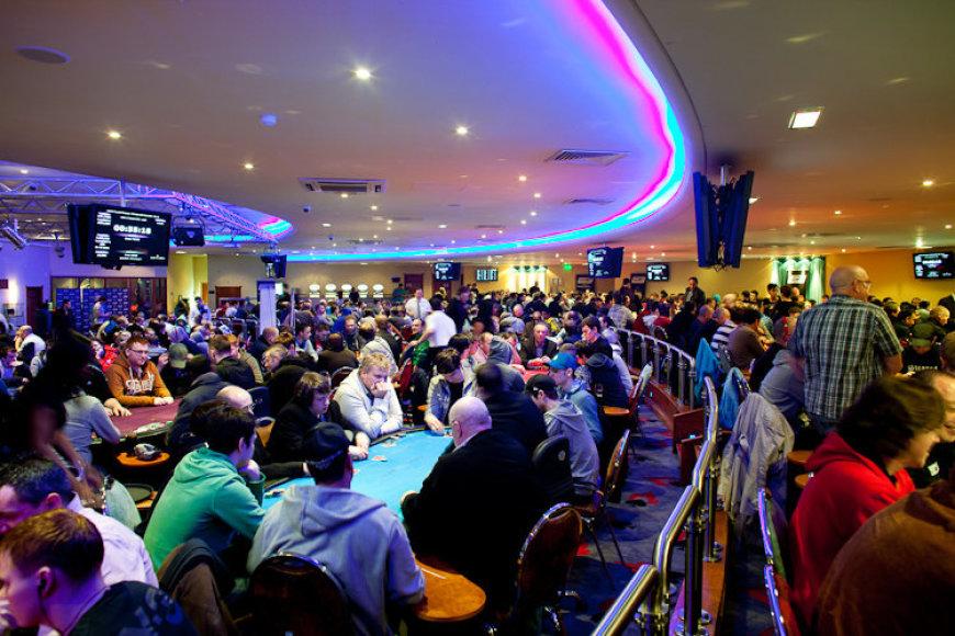 Didžiosios Britanijos ir Airijos pokerio turo (UKIPT) akimirka