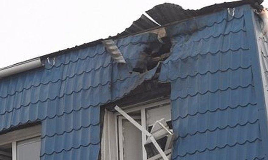 Apšaudytas Lenkijos konsulato Lucke pastatas