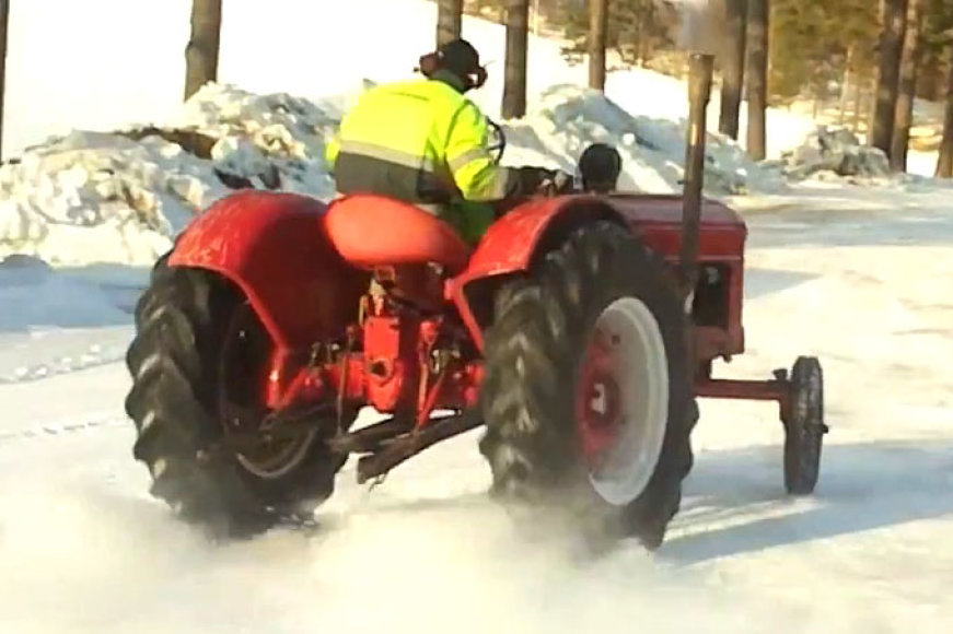 """""""Volvo T22"""" traktorius"""