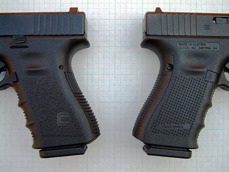 """Pistoletai """"Glock"""""""