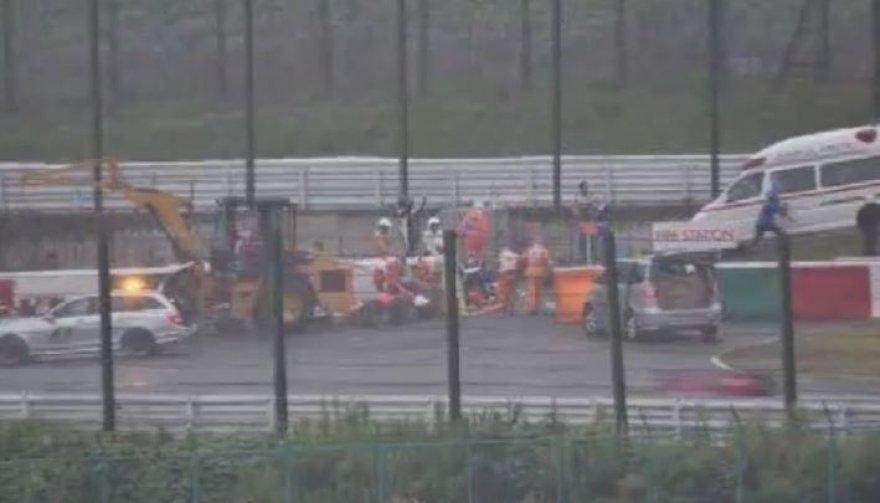 Juleso Bianchi avarija