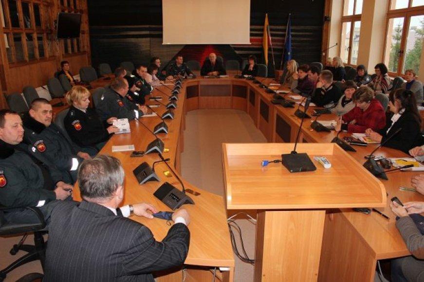 Lazdijų rajono savivaldybės Visuomeninės tarybos posėdis.