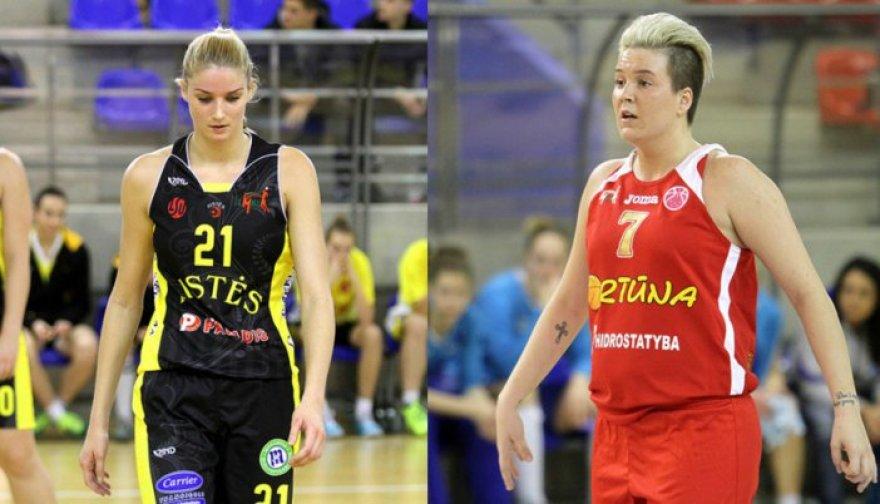 Laura Svarytė ir Marina Solopova