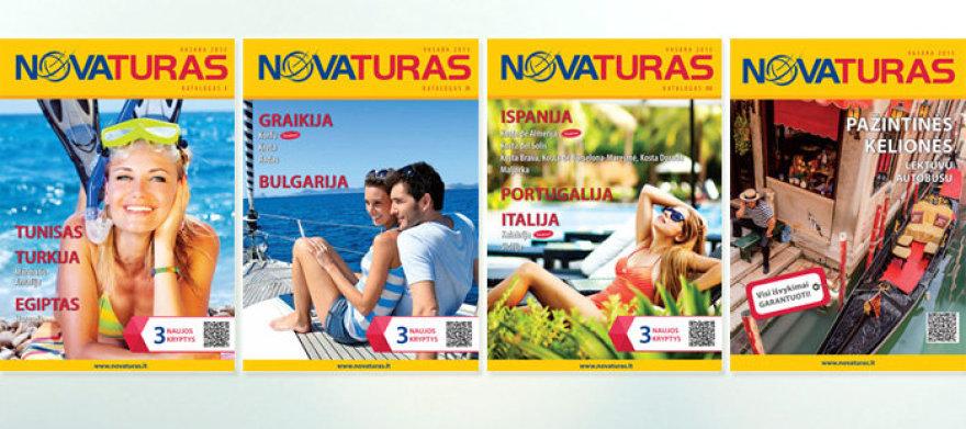 """""""Novaturo"""" kelionių katalogai"""