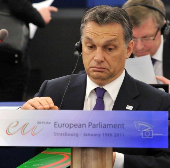 Vengrijos ministras pirmininkas Viktoras Orbanas