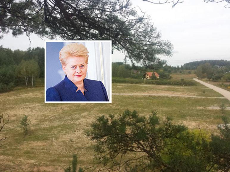 Dalia Grybauskaitė įsigijo sklypą Bajoruose