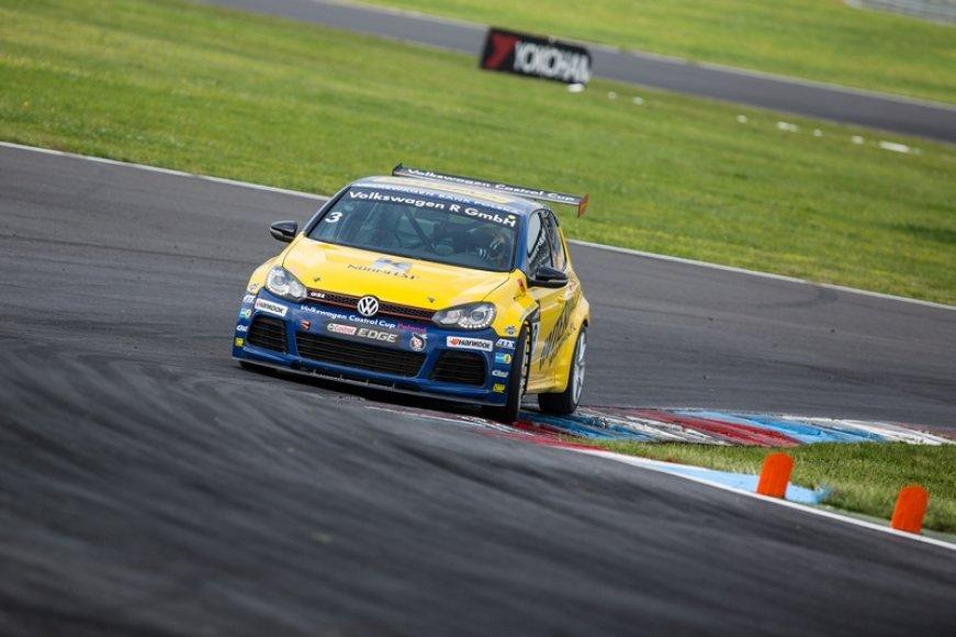 """""""Volkswagen Castrol Cup"""" lenktynės Vokietijoje"""