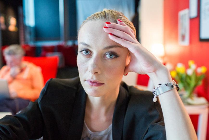 Aktorė Severija Janušauskaitė
