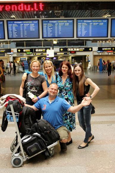 Rūta Mikelkevičiūtė ir Giedrė Talmantienė išvyksta į Zambiją