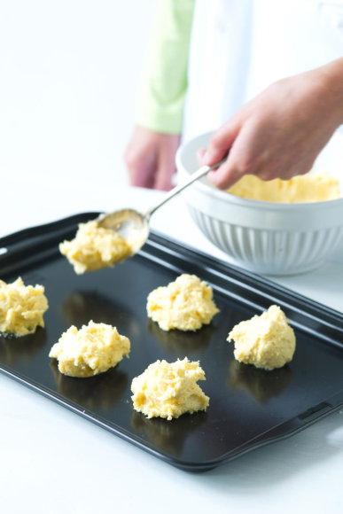 Sausainių formavimas