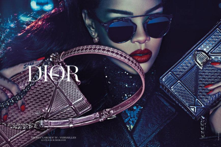 """""""Dior"""" reklama su Rihanna"""