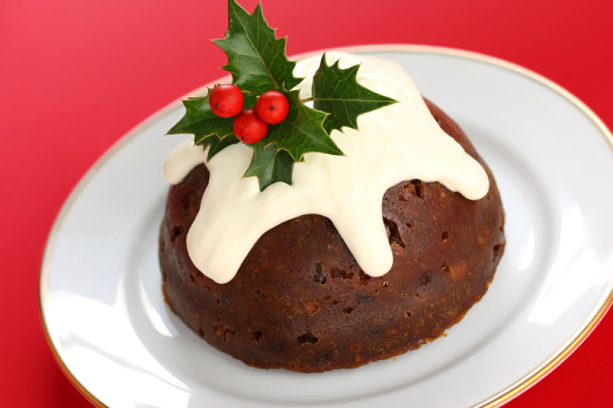 Angliškas kalėdinis pudingas