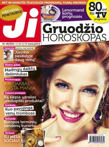 """2014 m. gruodžio mėnesio žurnalo """"Ji"""" Nr. 48"""