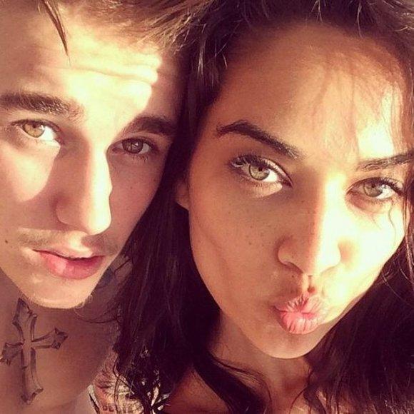 Justinas Bieberis ir Shanina Shaik