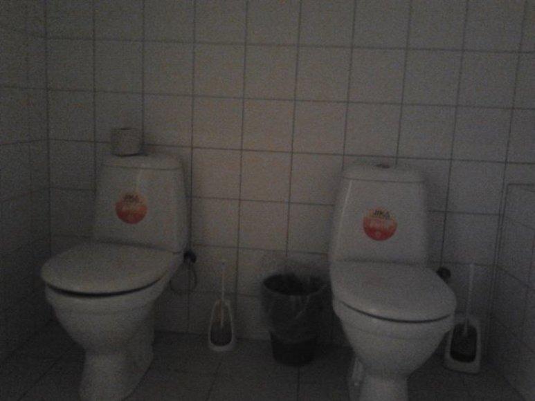Dvigubas tualetas Kaune