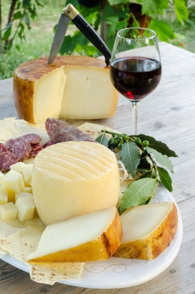 Sardinijos virtuvės skonis – pekorino sūrio skonis