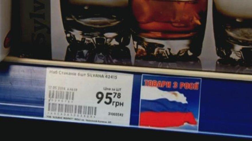 Pažymėta rusiška prekė Ukrainos parduotuvėje