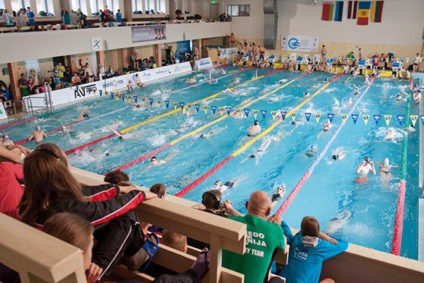Plaukimo festivalis Anykščiuose
