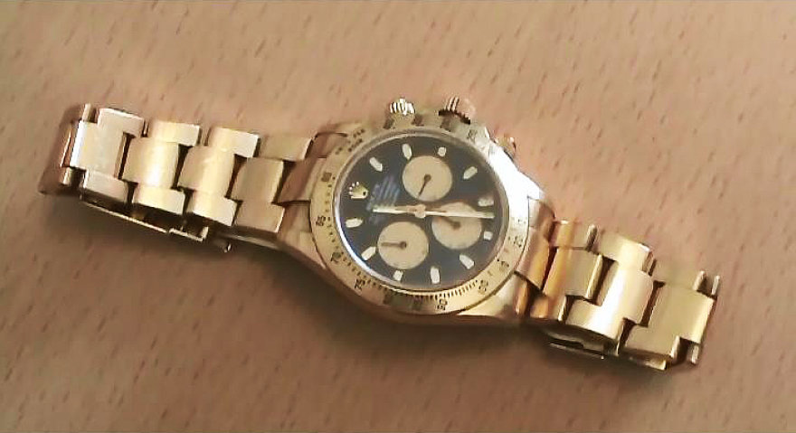 "Vogtas laikrodis ""Rolex"""